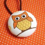 Ponytail Holder, Owl