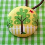 Xl Ponytail Holder, Tree