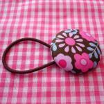XL Ponytail Holder, Brown w..