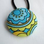 Ponytail Holder, Turquoise ..