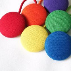 Rainbow Ponytail Holders